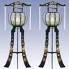 ご葬儀・ご法要については何なりとご相談下さい。回転灯篭『釈迦』(1対)-【供物】21,600円