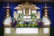 家族葬プランB祭壇(2)