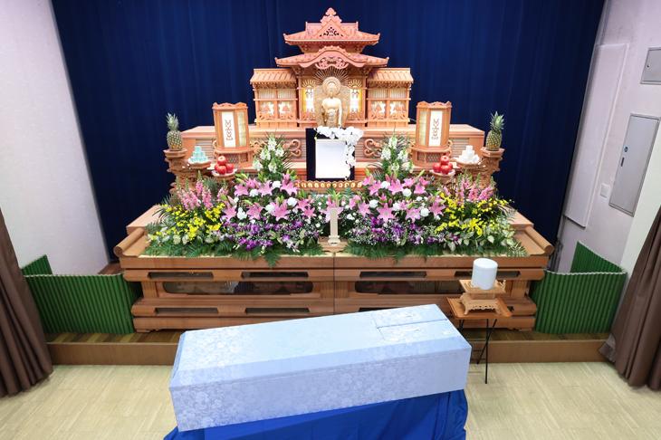 ゆとり葬Aプラン(セットイメージ)
